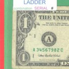 ~ LADDER ~~$1.00 FRN = MIXED # A34567982C