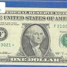 1995 &quot; F &quot; STAR $1.00 FRN