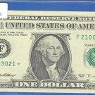 """1995 """" F """" STAR $1.00 FRN"""
