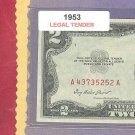 1953  $2.00 Red Seal ....A43735252A