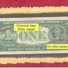 $1.00 === ERROR NOTE=== No margin RIGHTside