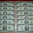 ( 12 )  Series 1976  $2.00 Bills Complete Set