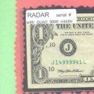= RADAR = Quad 9999~~ middle serial #