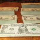 Lot of 512 asst $1 STAR notes ~~ 1963b thru 2009 + bonus { 10 } Unc L stars