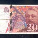 1996 == FRANCE  ==  200 francs
