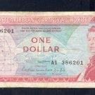 EAST CARIBBEAN  ==  ONE DOLLAR =  A1 386201