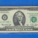 "1976 "" H "" STAR $2.00 FRN = H00307998*"