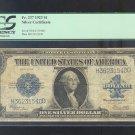 1923 = $1.00 = SILVER certificate  PCGS F 15