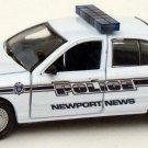 Newport News Police Car