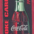 COKE card = 1999 collectable