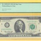 """1976  """" E """"  STAR  $2.00  PCGS CU63 = E00330526*"""