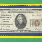 "Omaha, NB - $20 1929 "" FORBIDDEN TITLE "" The United States NB Ch. # 2978"