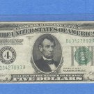 ~~ 1928A~~ $5.00 FRN == CLEVELAND, OH  district...