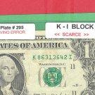 ENGRAVING Error = Bp # 295 , K - I block = SCARCE = 86313642
