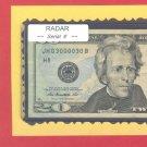 = RADAR = Quad 0000~~ middle S/N & BINARY 03000030