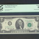 ~ MISMATCHED PREFIX ~ $2 1976 FRN PCGS 63 ERROR