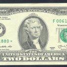 """2013 """" F """" STAR $2.00 F00611880*"""