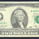 "2009 "" K "" STAR $2.00  K00246419*"