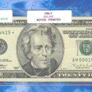 "== Series Key == 1996 "" H "" star $20.00 FRN AH00014415*"