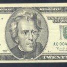 """1996 """" C """" STAR $20.00 AC00440164*"""