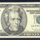 "1996 "" A "" STAR $20.00 AA09509021*"