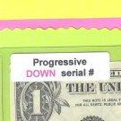 Progressive == DOWN == 5449 5448 == Serial #