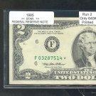 """1995 """" F """" STAR $2.00  = F03287514* Run 2"""