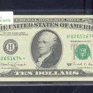 """== Series Key == 1990 """" H """" star $10.00 = H02651674*"""
