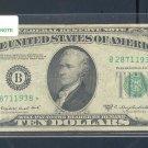 """1950C """" B """" STAR $10.00 FRN B28711938*"""