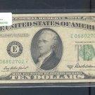 """1950B """" E """" STAR $10.00 FRN E06802702*"""