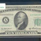 "1950B "" A "" STAR $10.00 FRN A07059855*"
