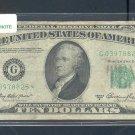 "1950A "" G "" STAR $10.00 FRN G03978825*"