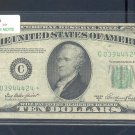 """1950A """" C """" STAR $10.00 FRN C03944424*"""