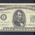$5.00 === ERROR NOTE=== WIDE margin == E26310664B