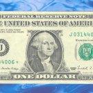 "1988 "" J  "" STAR $1.00 = J03144006*"