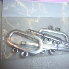 2 Hole Toggle Pewter Pack of 2 #2174