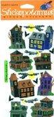 Stickopotamus Binder Stickers - Haunted House