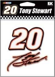 Nascar Tony Stewart - embroided sticker