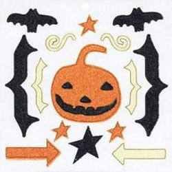 Junkitz Glitterz Whimsical Halloween