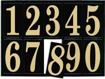 Junkitz Teresa Collins Chipboard Numberz