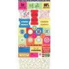 Junkitz Salsa Celebration Cardstock Stickers