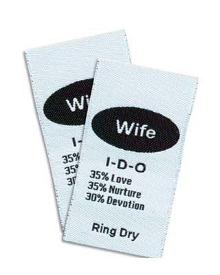 Junkitz labelz - wife