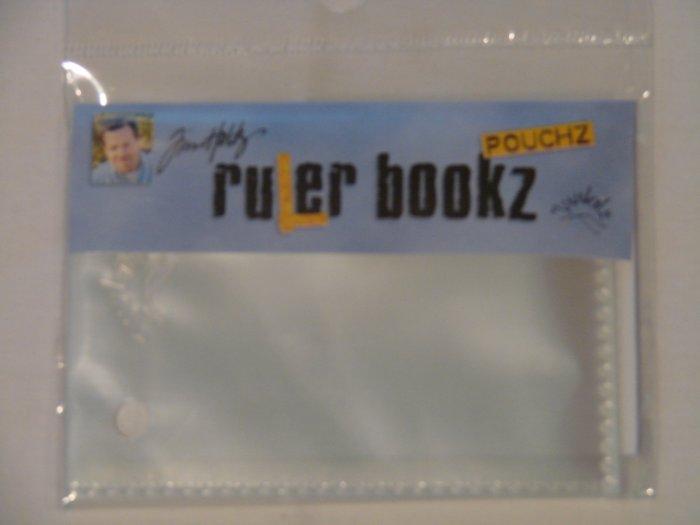 Junkitz Tim Holtz ruler bookz pouchz - 3.5x2.5