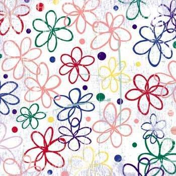 Junkitz  Essentials Bright Paper - Bright Floral