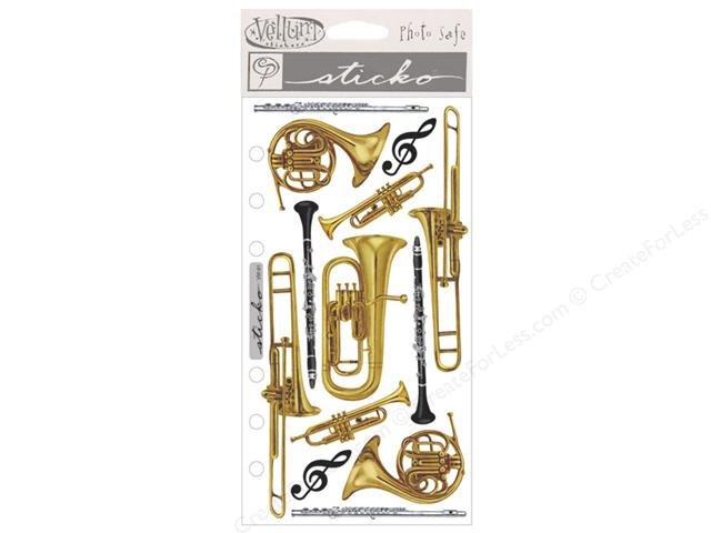 EK success Sticko vellum stickers band