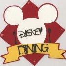 Disney Dining cutting file