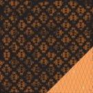 Making Memories Spellbound Brocade Orange 12x12