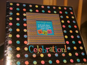 bound + determined celebration 12x12 album w/ paper