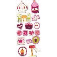 Imaginisce Sweet Cheri Collection - Chipboard stickers