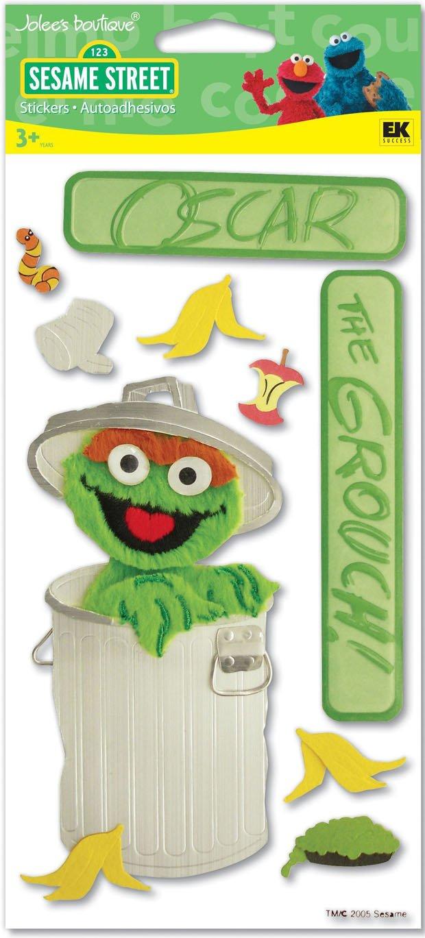 Jolee's Boutique Sesame Street Oscar the Grouch SSJB09